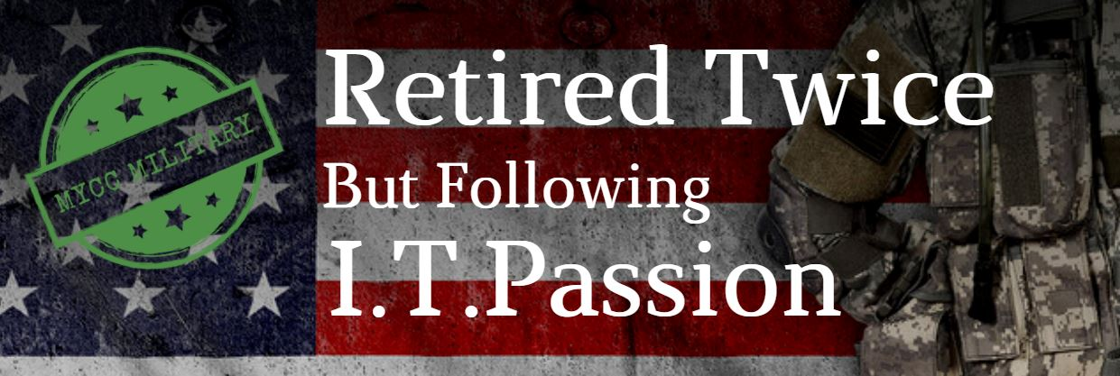Retired Twice But Following Passion For I.T.